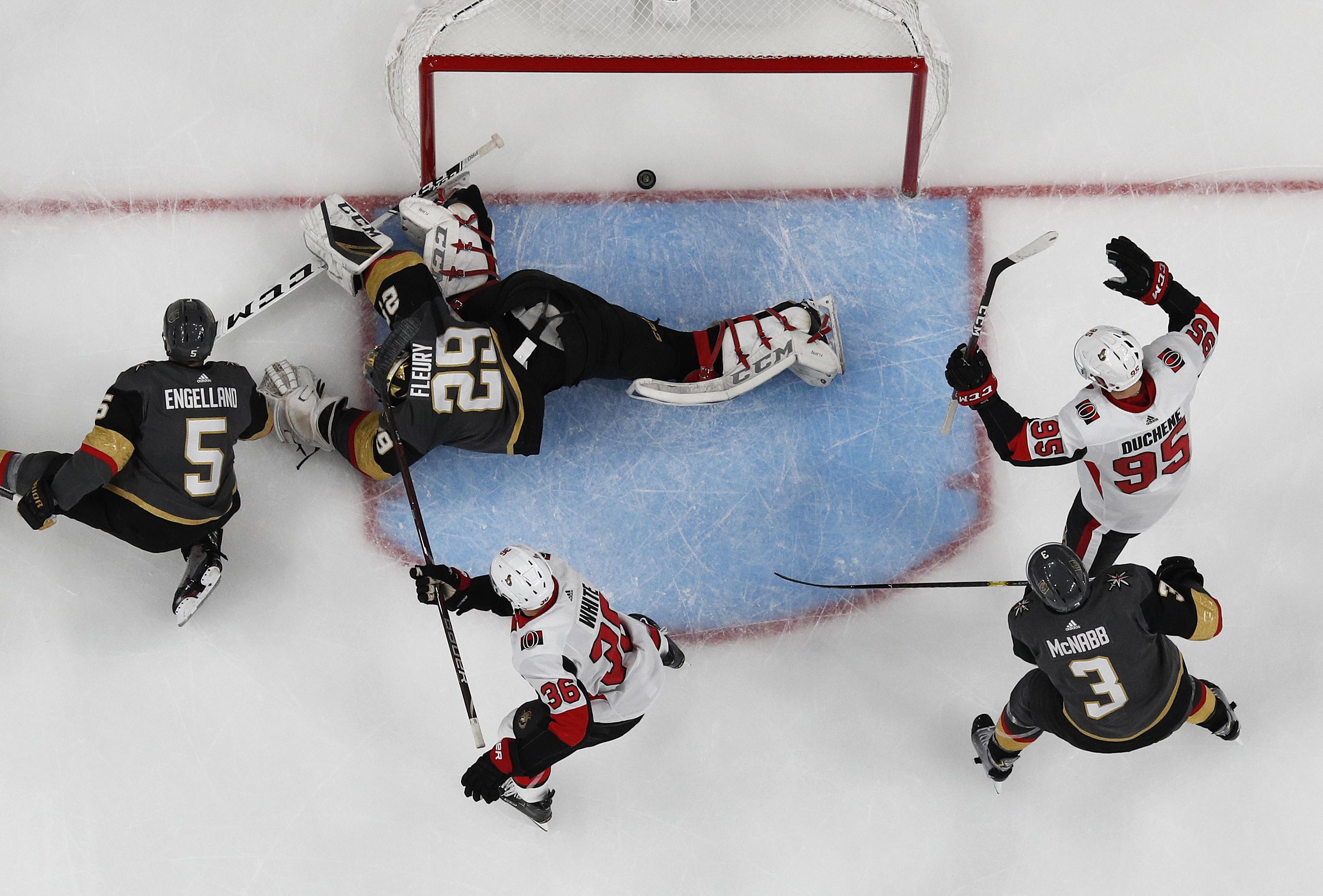 Marchessault's OT penalty shot lifts Vegas past Ottawa 3-2