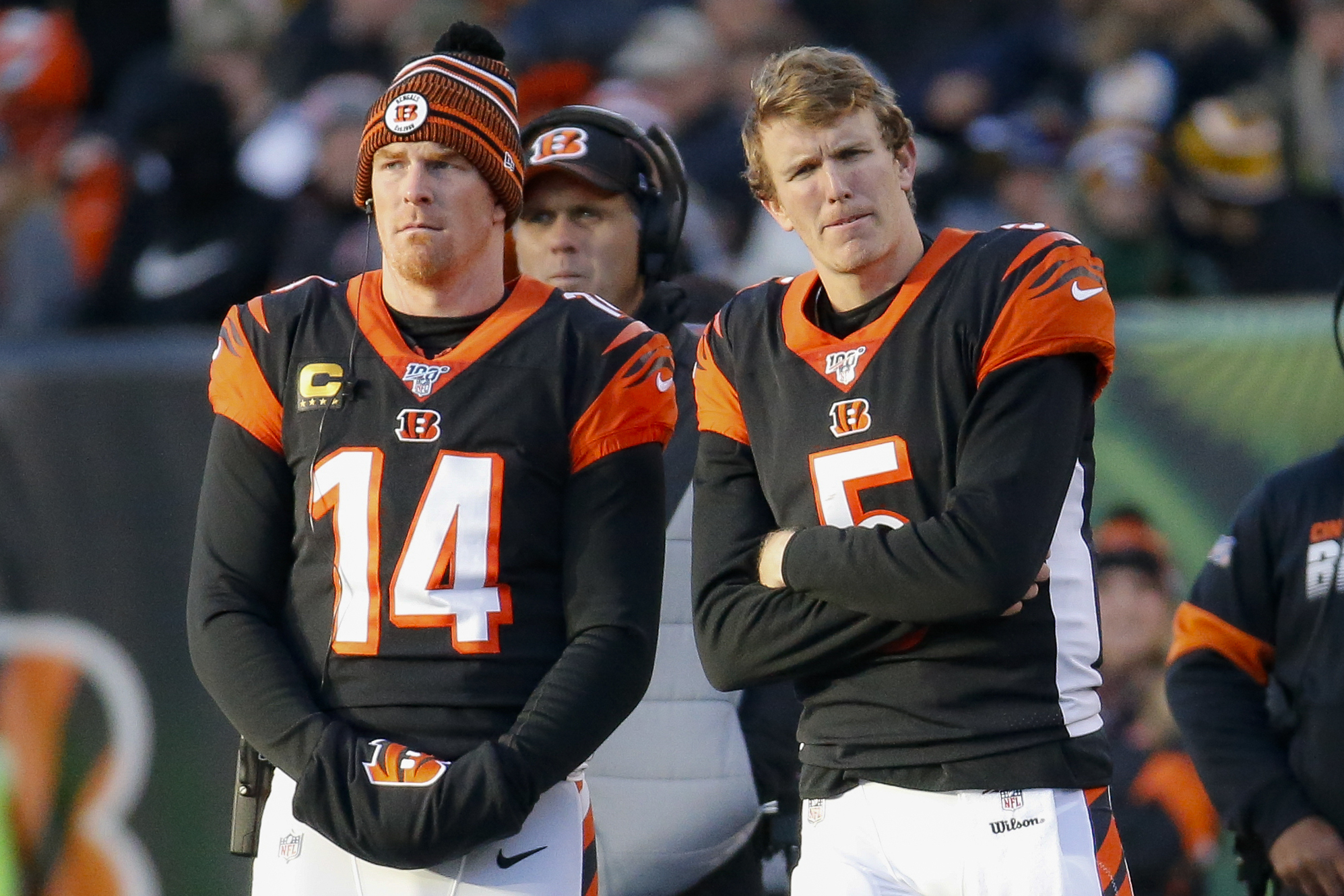 Winless Bengals bench rookie Finley, go back to Andy Dalton