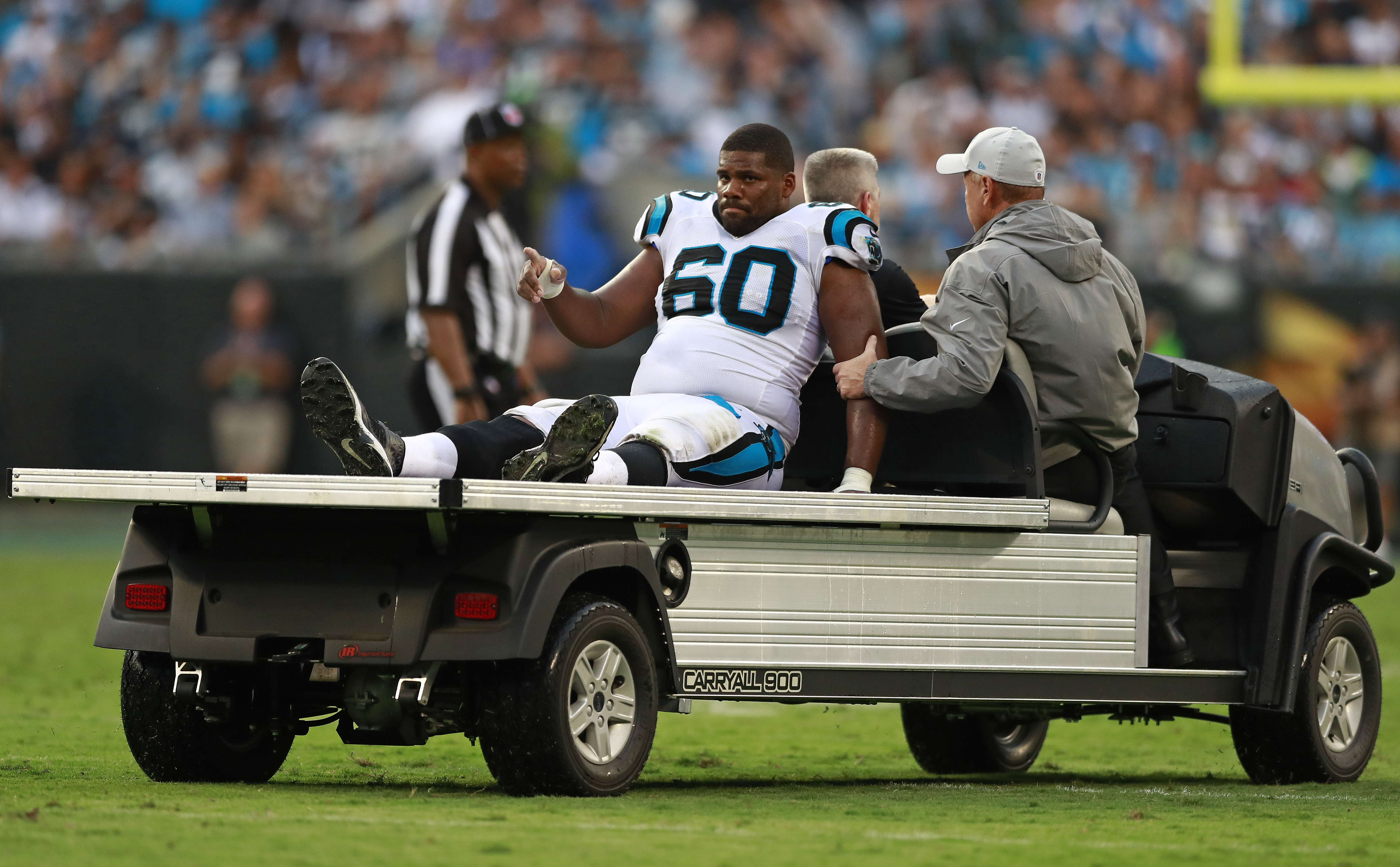 Panthers sign tackle Clark, put Williams on injured reserve
