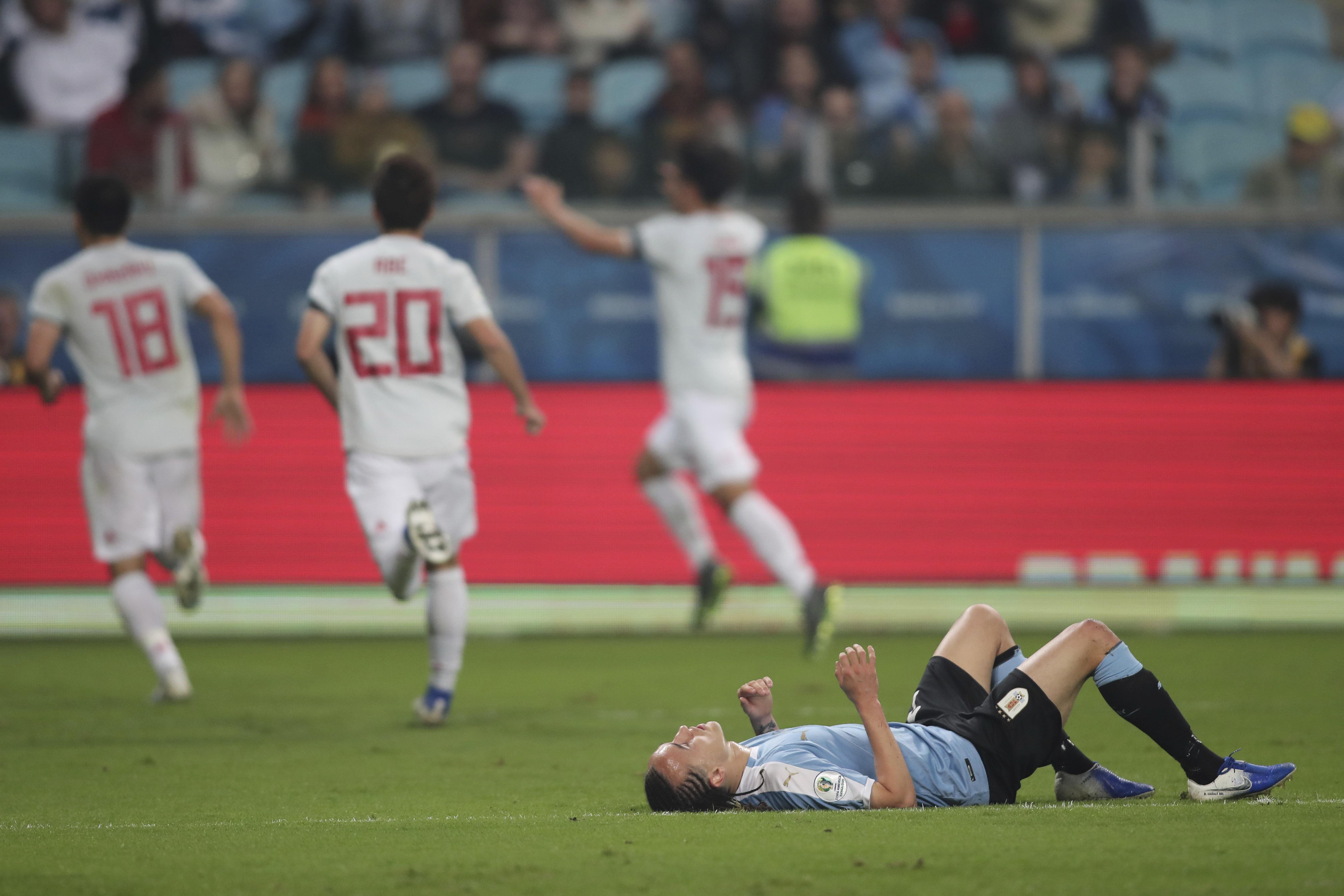 Copa America: Uruguay midfielder Laxalt has hamstring injury