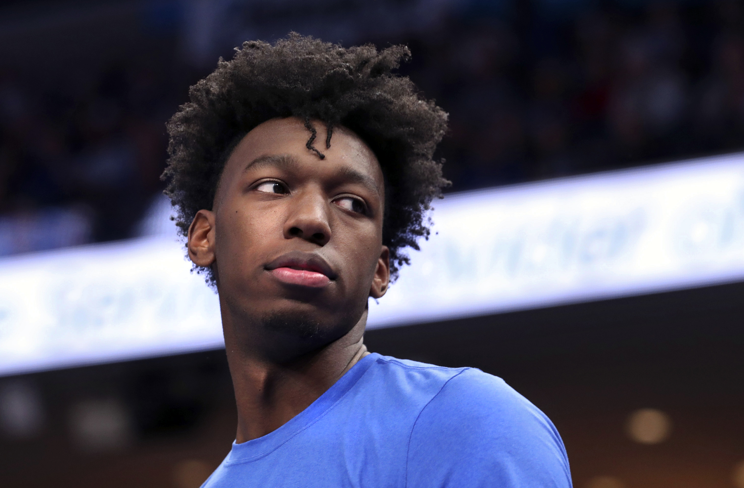 Memphis' James Wiseman says he has withdrawn from school