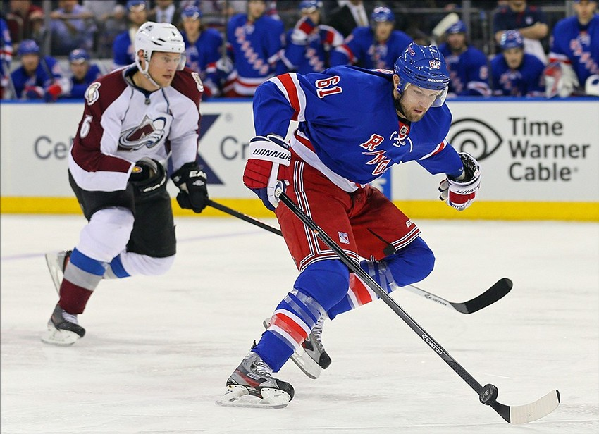 New York Rangers Trade Targets: Colorado Avalanche