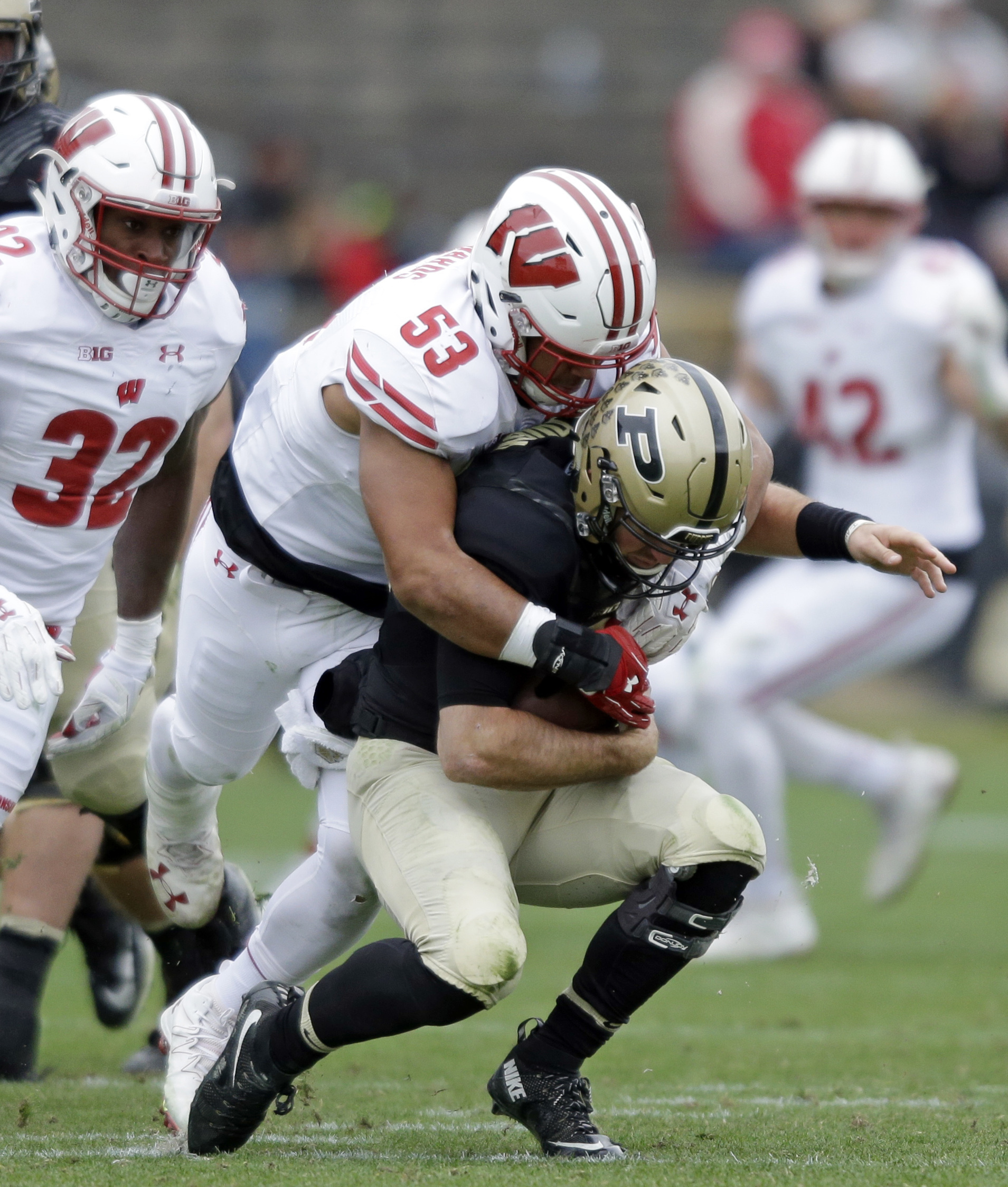 No. 4 Wisconsin's D work in progress with stars and youth