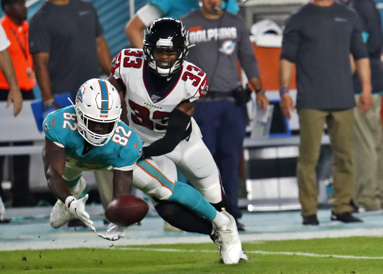 Dolphins' big catch: undrafted receiver Preston Williams