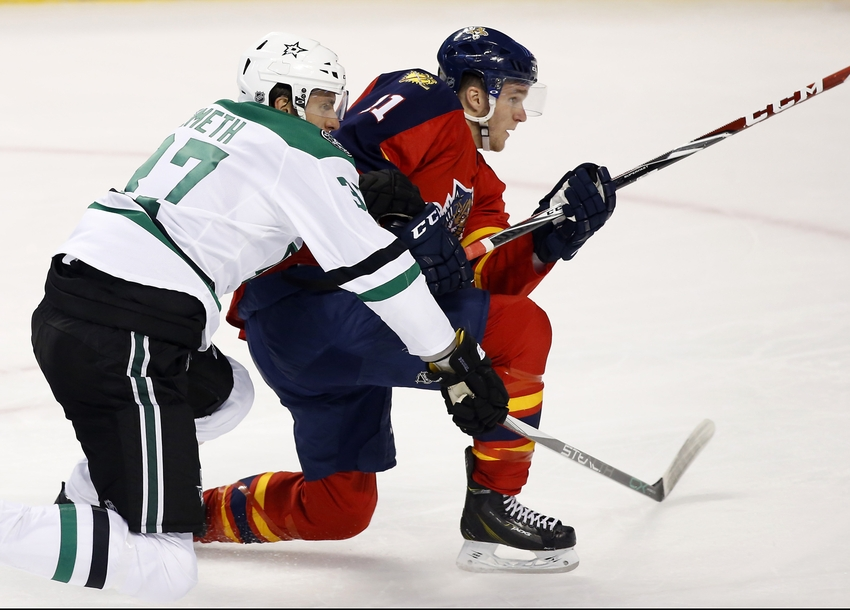 Dallas Stars Give Up Win Streak To Panthers In 3-1 Loss