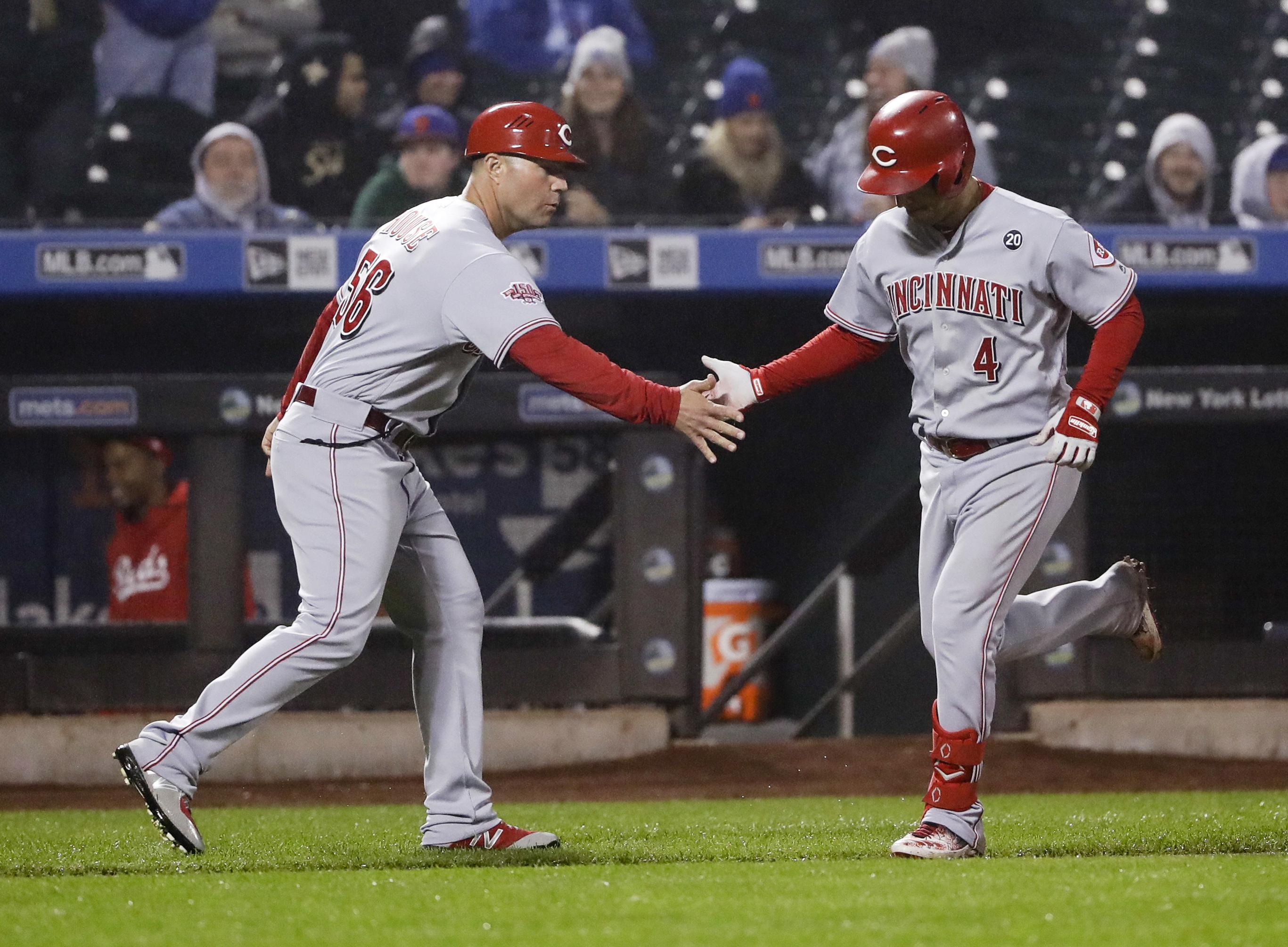 Iglesias homers off Diaz in 9th, Reds edge Mets 1-0