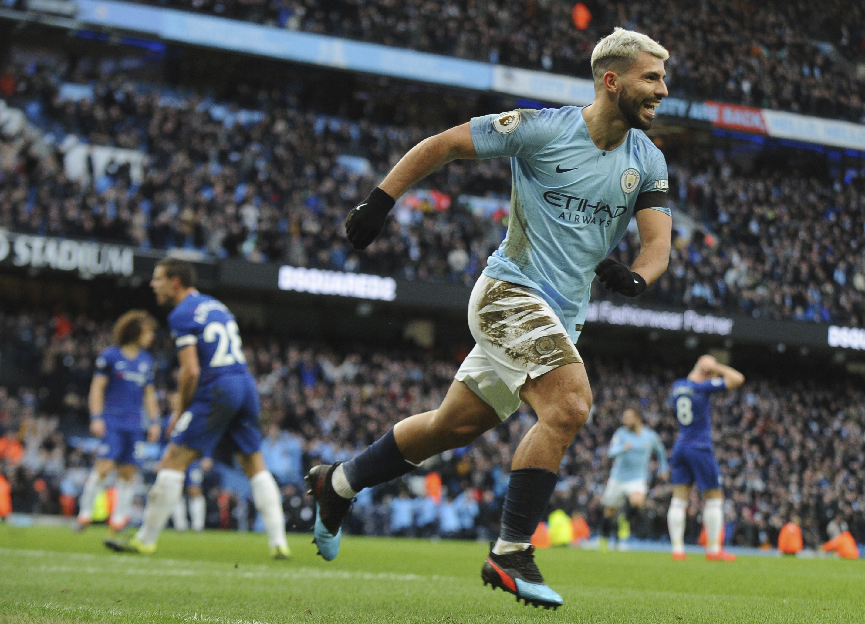 Aguero, City humiliate Chelsea _ even referee joins in japes