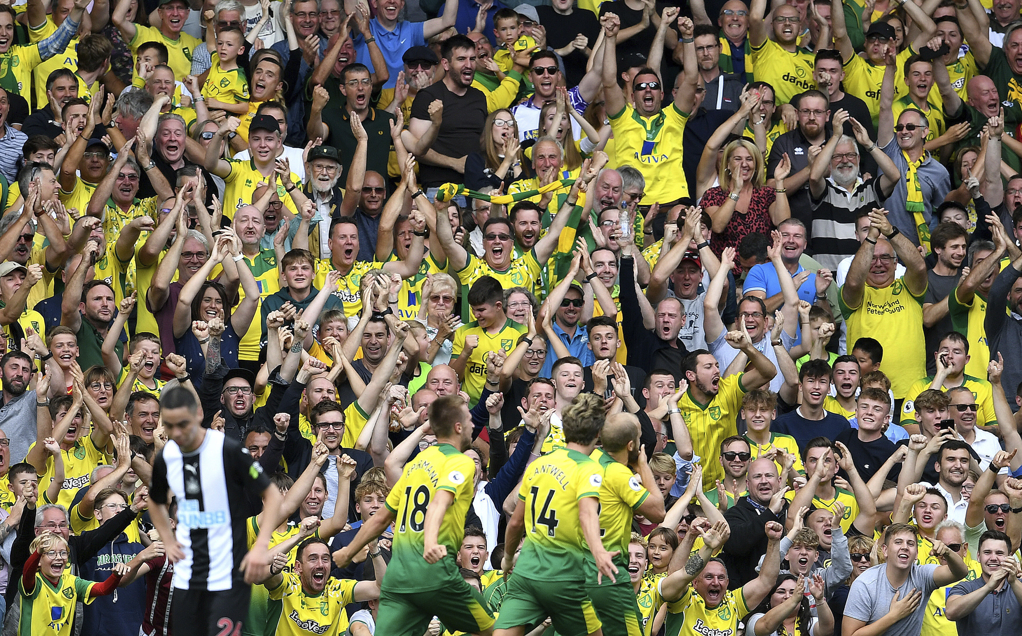 Pukki hat trick leads Norwich to 3-1 win over Newcastle