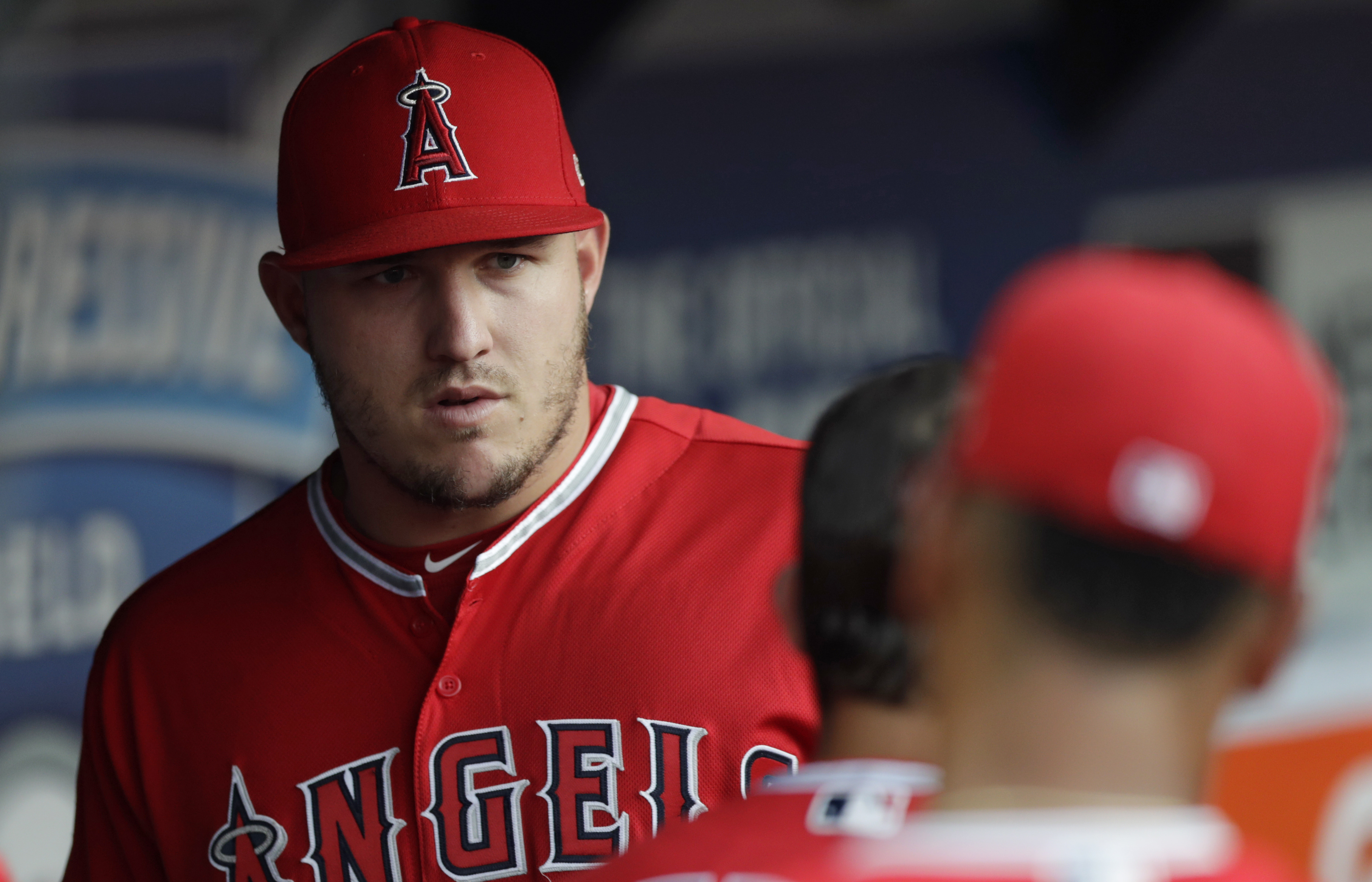 LEADING OFF: Trout sits, Taillon and Betts meet post-cancer