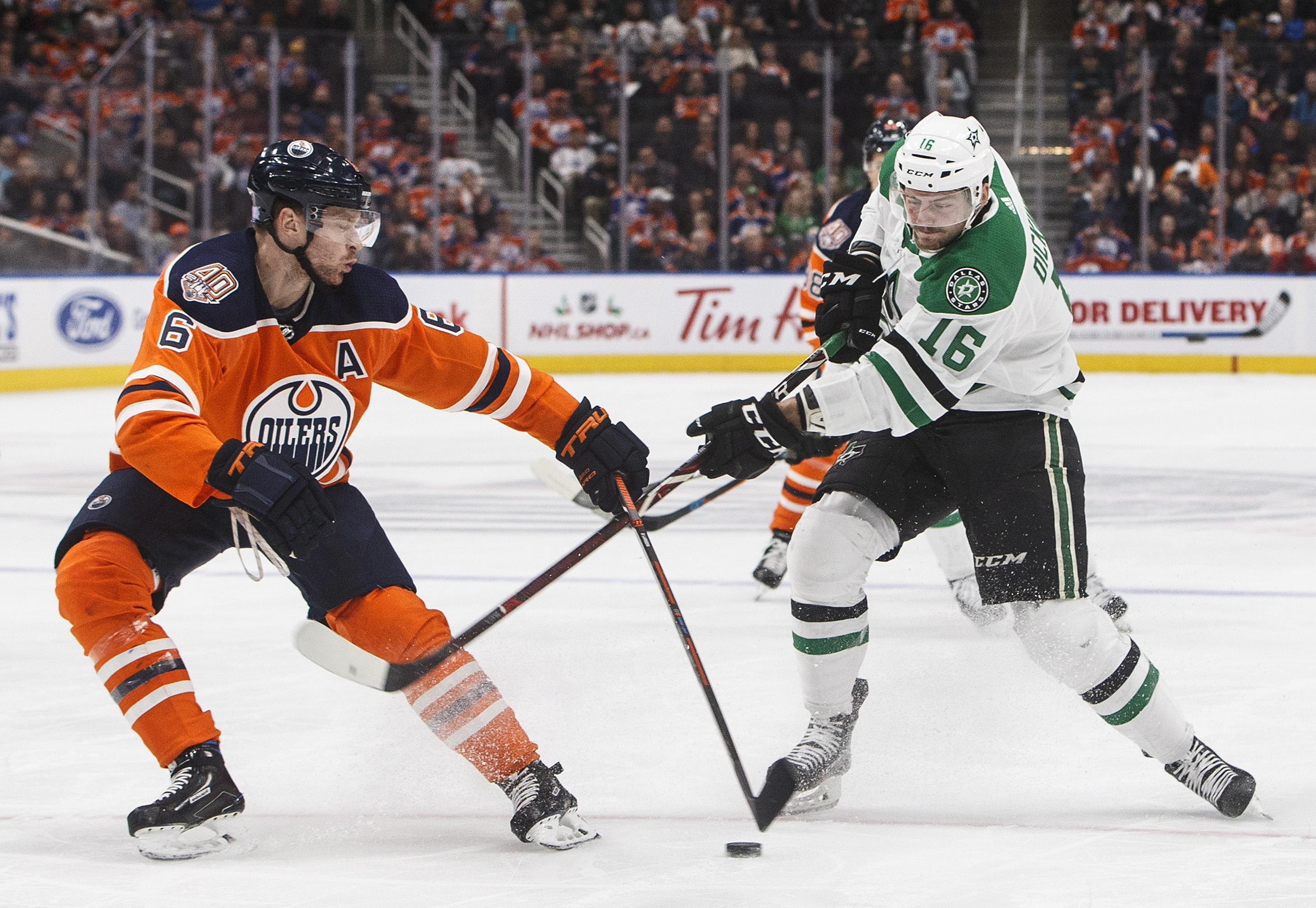 Klefbom's 1st goal leads Oilers to 1-0 OT win over Stars