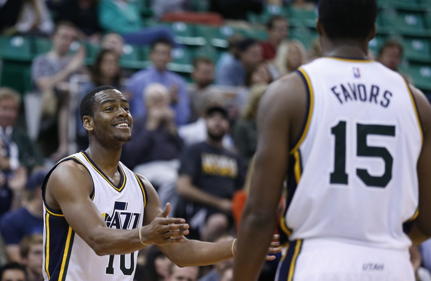 Utah Jazz: Alec Burks & Co. Back From D-League Already