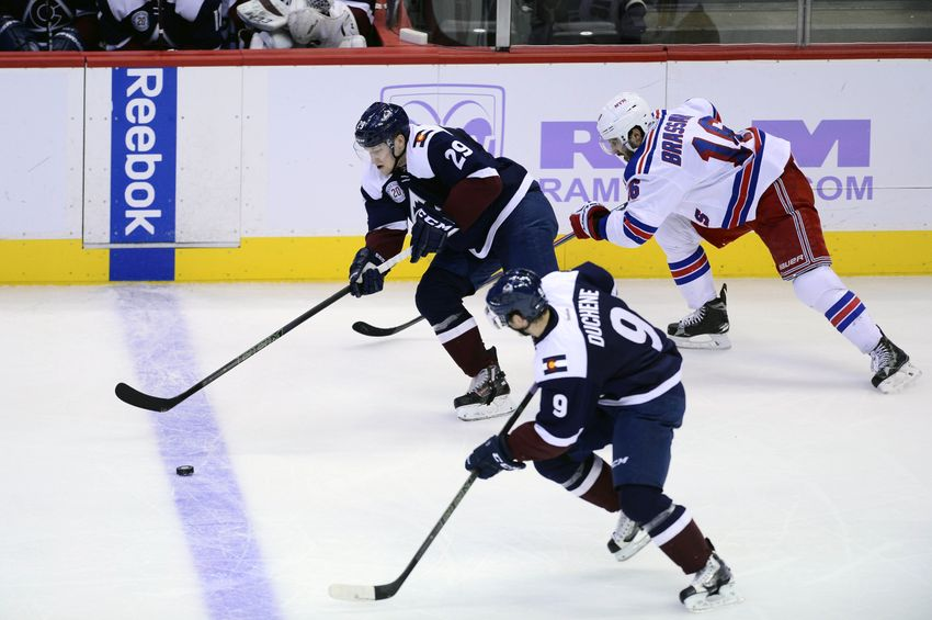 Colorado Avalanche Finally End 2016 Against the New York Rangers