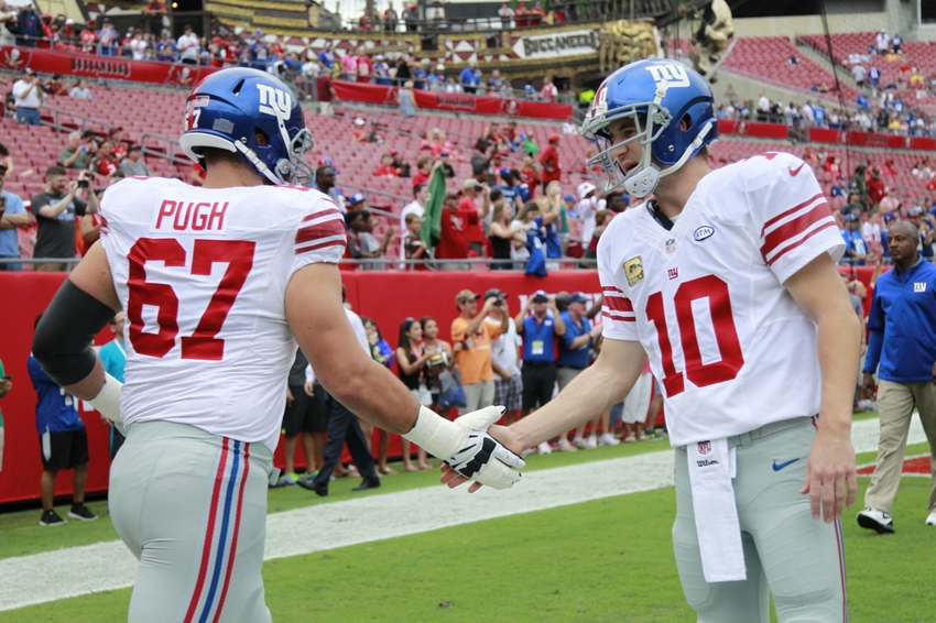 What Justin Pugh's Return Means for the Giants Offense