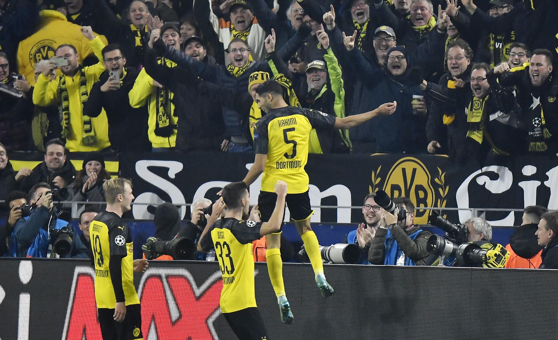 Hakimi scores 2 in Dortmund's comeback win over Inter