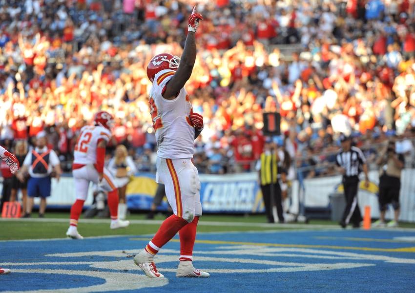 Fantasy Football: Five Kansas City Chiefs To Play Vs Chargers