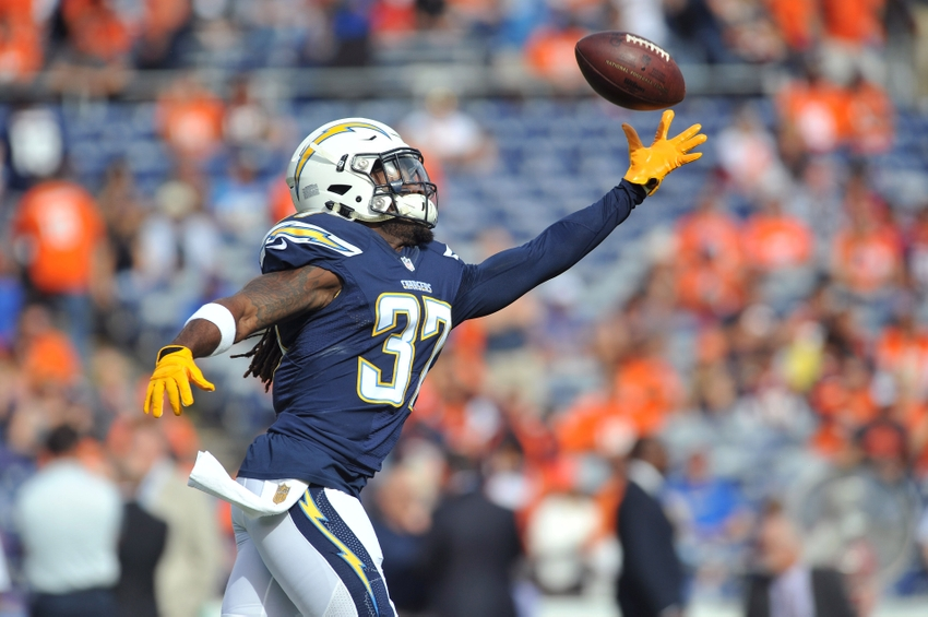 Chargers' Jahleel Addae Goes 90 Yards on Pick-Six Off Alex Smith (Video)