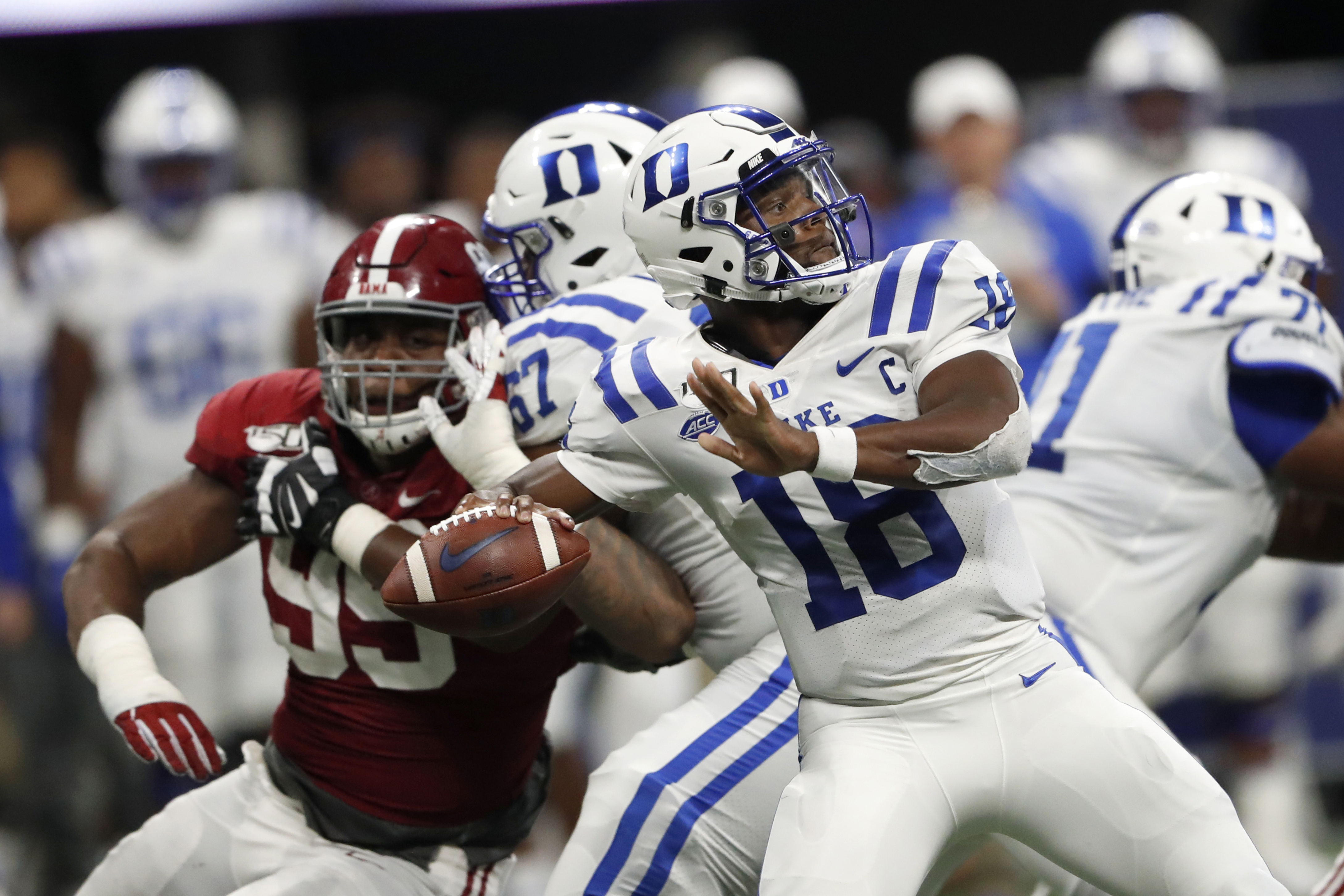 Duke brushes off Bama loss, prepares for NC A&T