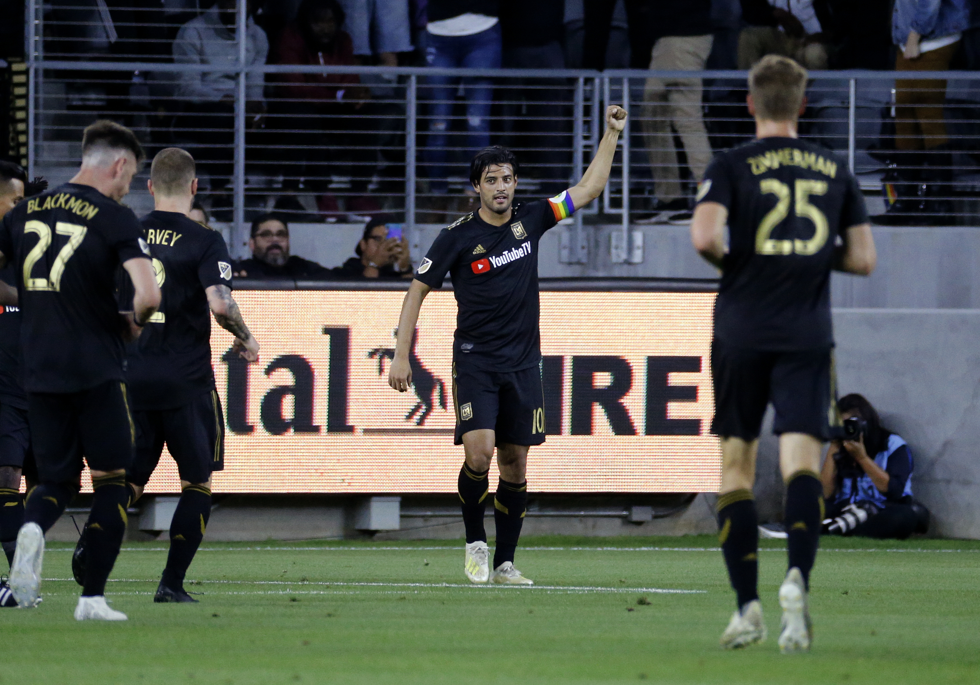 Vela has goal, 2 assists as LAFC tops Montreal 4-2