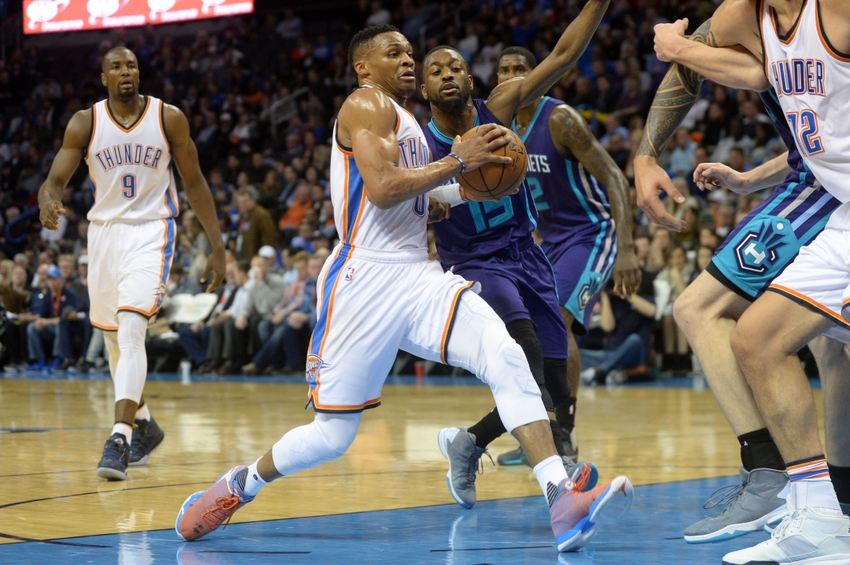 Charlotte Hornets Look to Contain Westbrook as They Host the Thunder