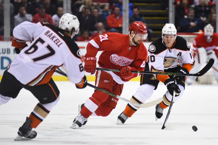 Game 38 Preview: Red Wings at Anaheim Ducks