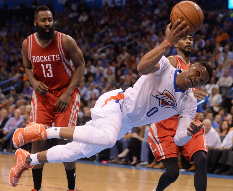 Game Day Preview, Thunder @ Rockets: Westbrook vs Harden show down