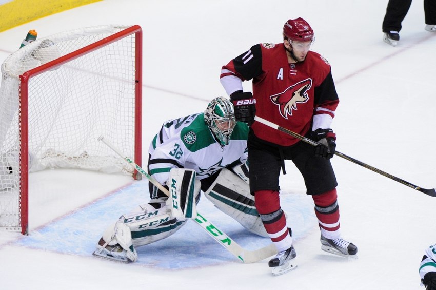 Arizona Coyotes Drop Fifth Straight Game Against Dallas