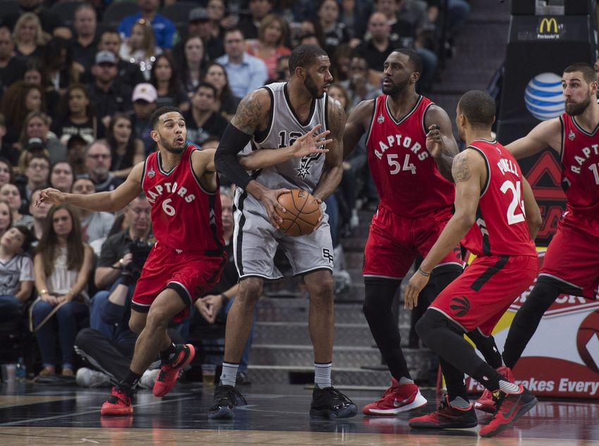 Raptors (23-10) at Spurs (27-7): Preview