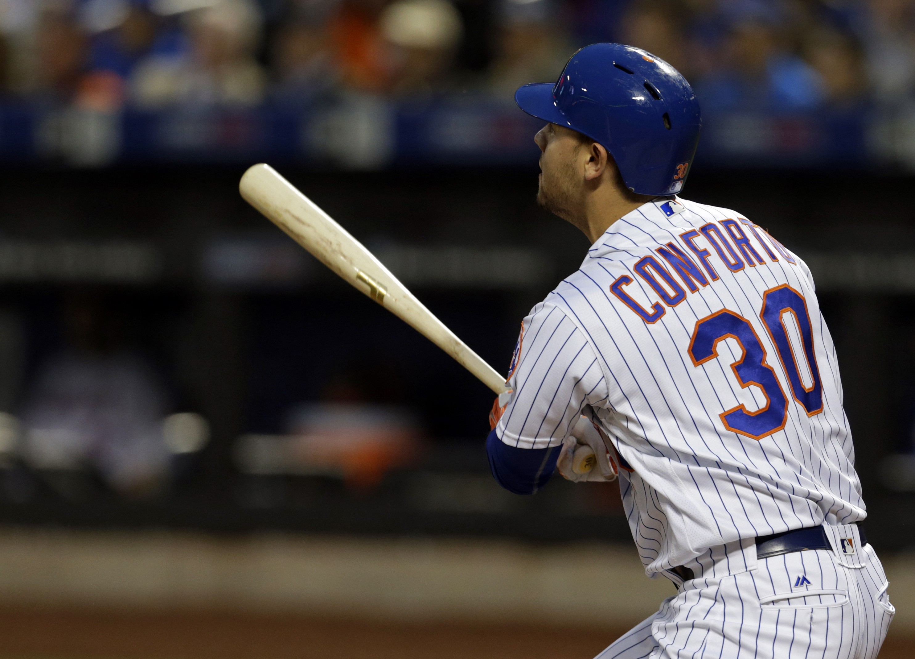 Mets: Michael Conforto unlikely to get a look at first base