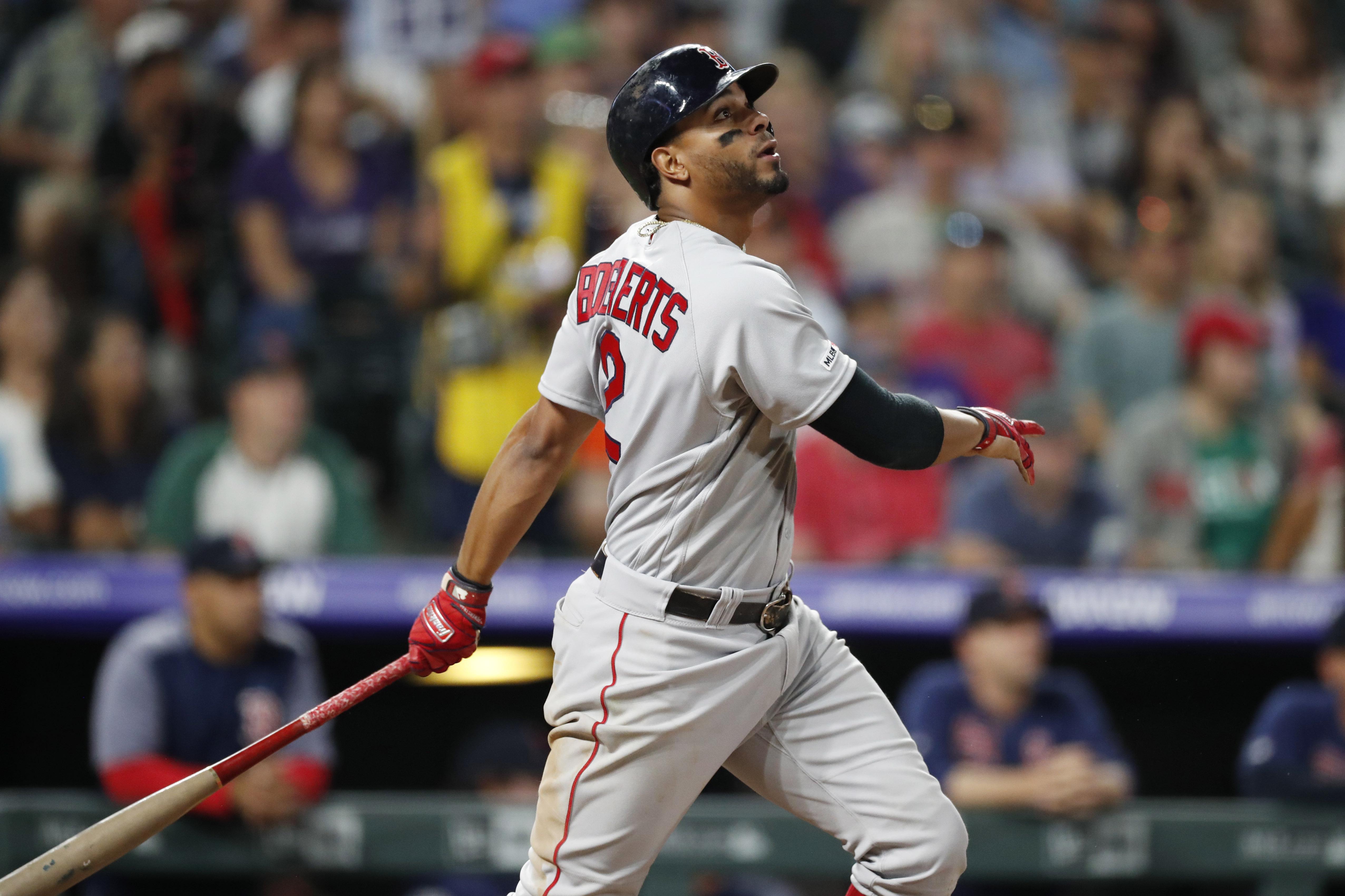 Bogaerts homers twice, Red Sox beat Rockies 7-4