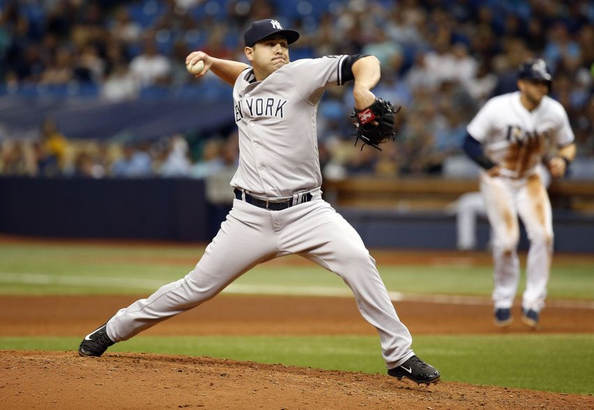 Yankees Trade Nick Goody to the Indians for a PTBNL