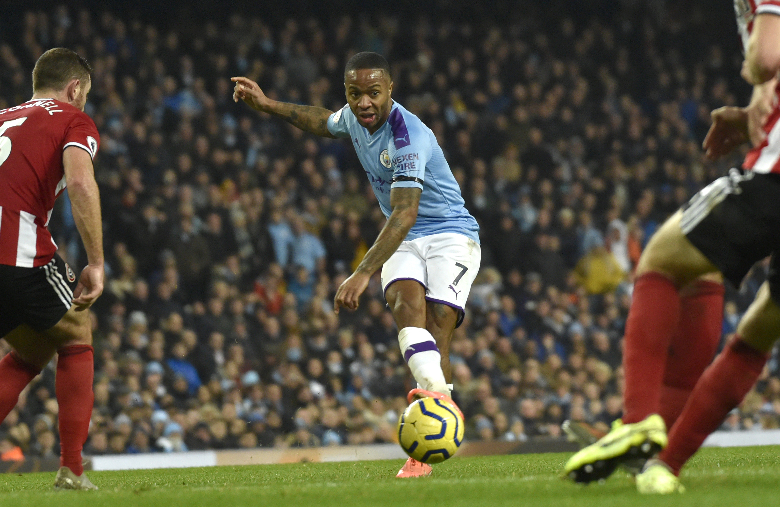 Fan handed 5-year soccer ban for racially abusing Sterling