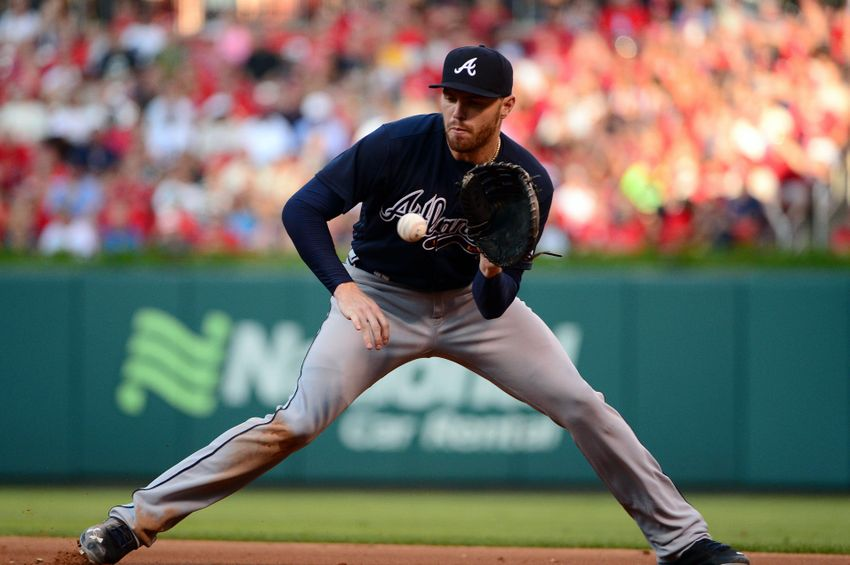 Atlanta Braves News: The Morning Chop, Freddie Freeman Best At 1B? Mike Trout A Free Agent?