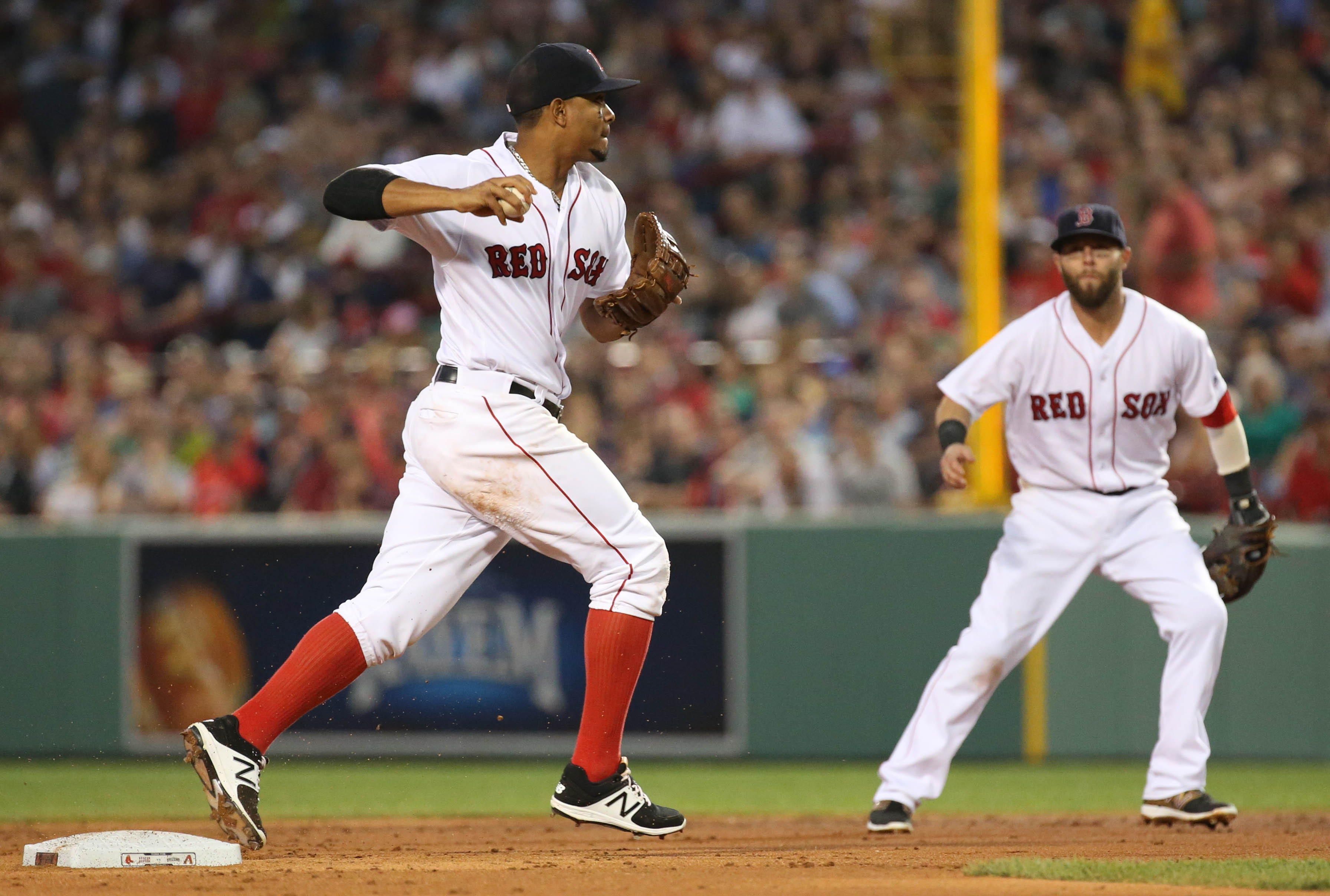 Red Sox: Xander Bogaerts, Dustin Pedroia among best middle infield duo's