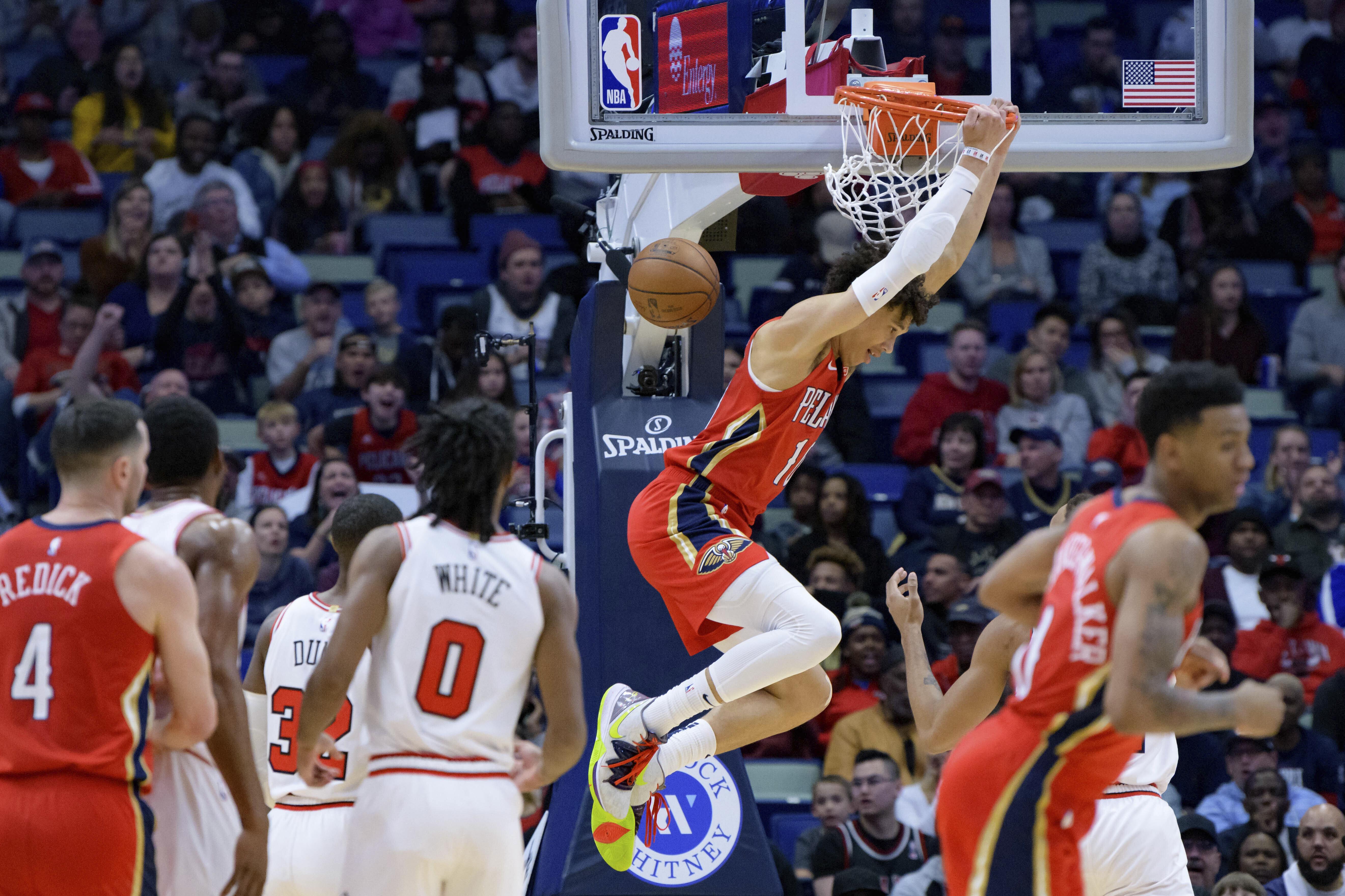Ingram scores 29 points, Pelicans top Bulls 123-108