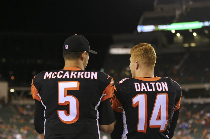 Trading AJ McCarron Is The Right Move For Bengals