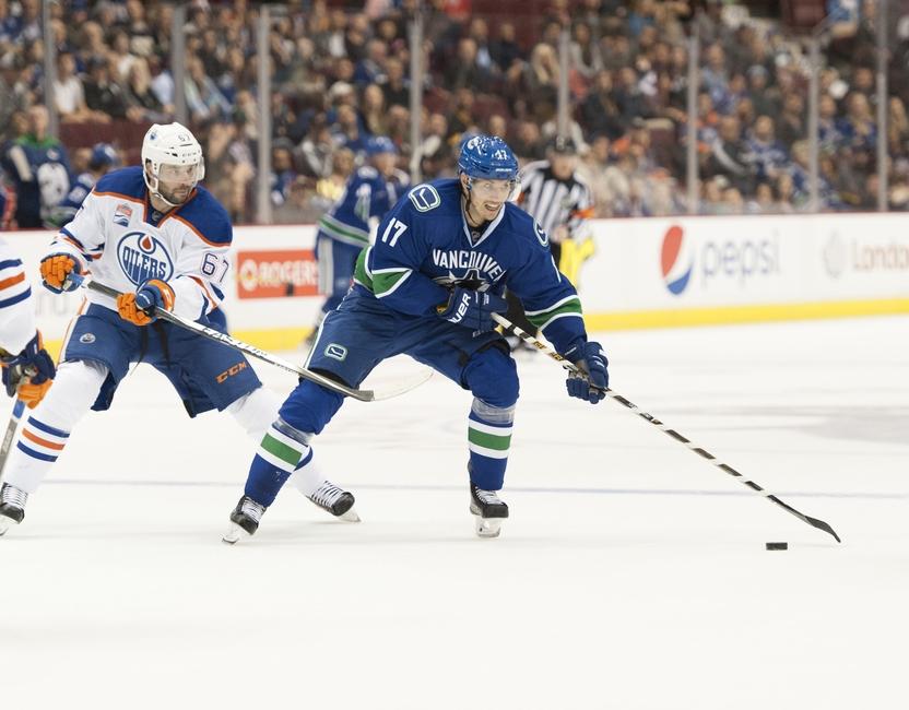 Vancouver Canucks: Alex Burrows out, Anton Rodin in vs. Avalanche