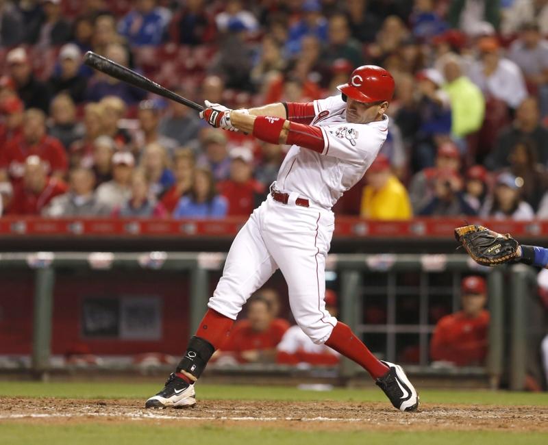 Cincinnati Reds' writers name first baseman Joey Votto as 2016 team MVP as they announce organizational awards
