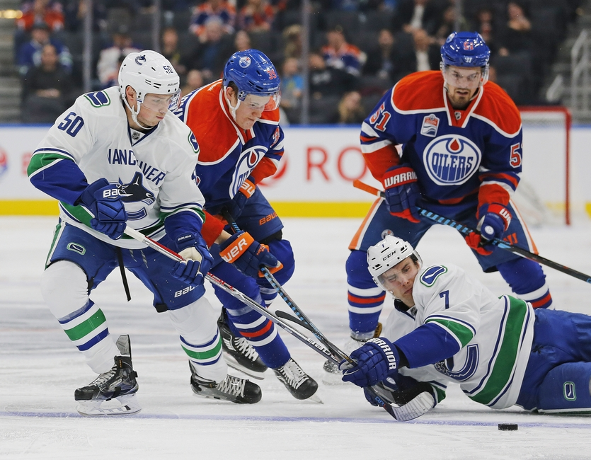 Vancouver Canucks at Edmonton Oilers: Preview, Lineups