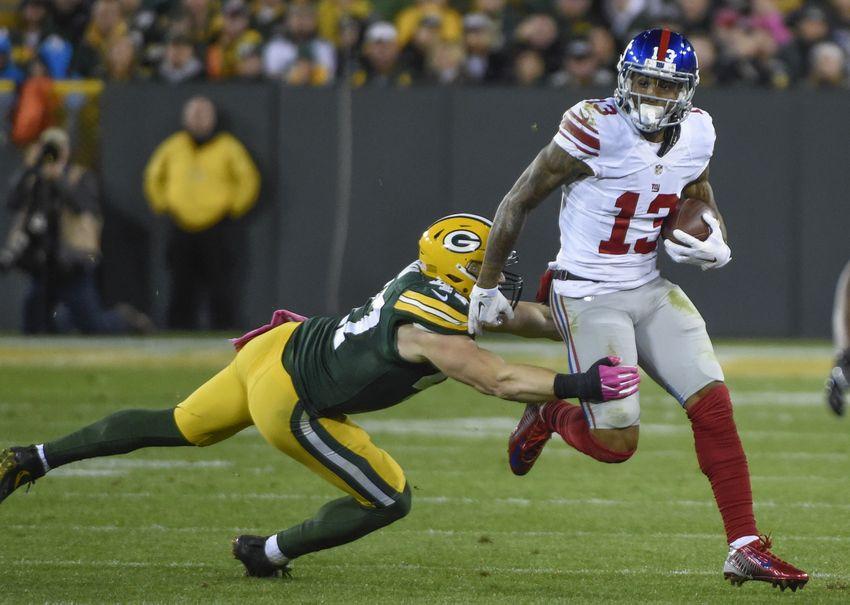 Packers vs. Giants: How Odell Beckham Jr. was slowed down in Week 5 meeting