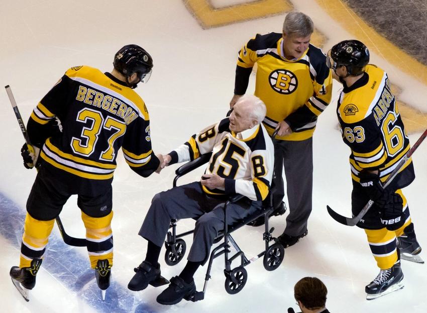 The Boston Bruins Remember Milt Schmidt