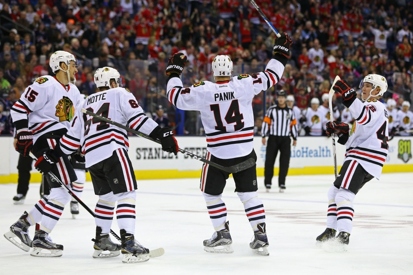 Chicago Blackhawks Morning Links- Big Apple Sweep