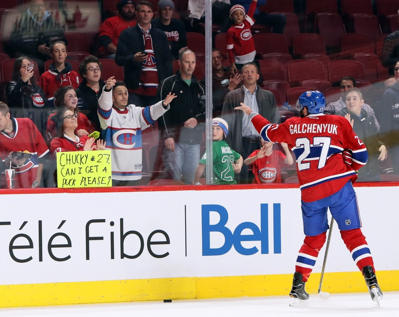 Montreal Canadiens: Galchenyuk and Desharnais Getting Healthy
