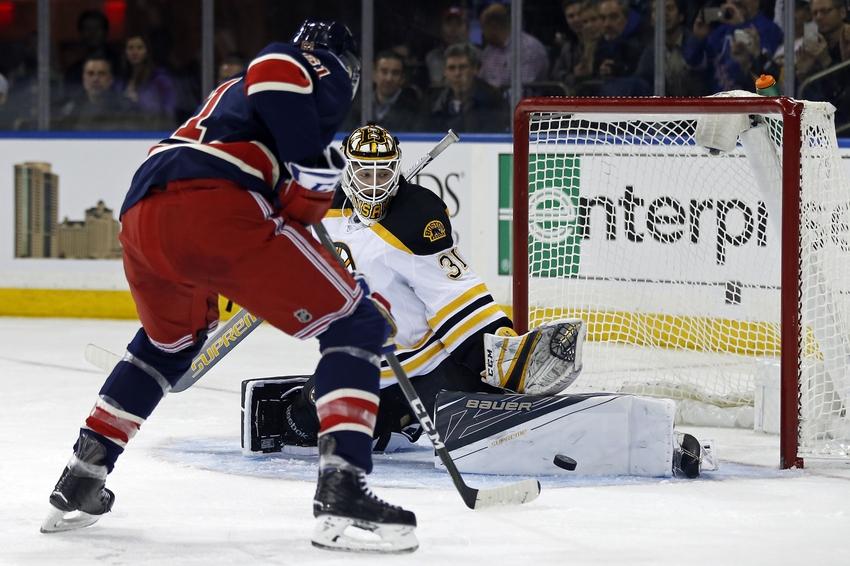 Boston Bruins Goaltender Zane McIntyre Shining