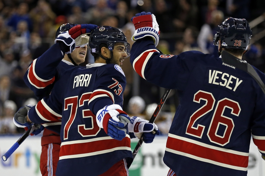 New York Rangers' Brandon Pirri in Need of Right-Hand Man