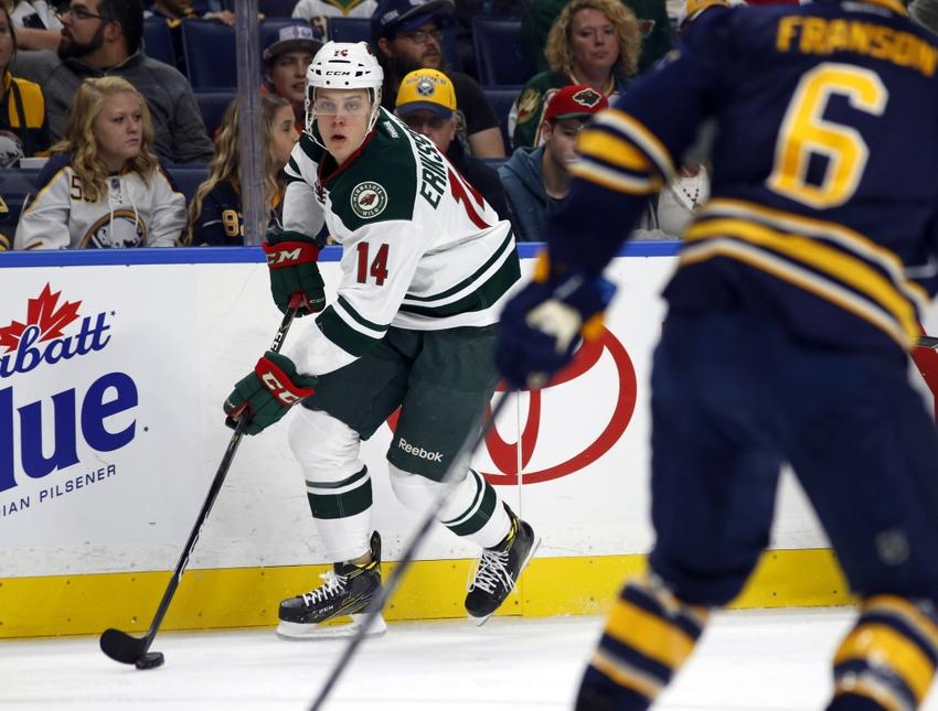 Minnesota Wild: Eriksson-Ek Looks to Dominate World Juniors