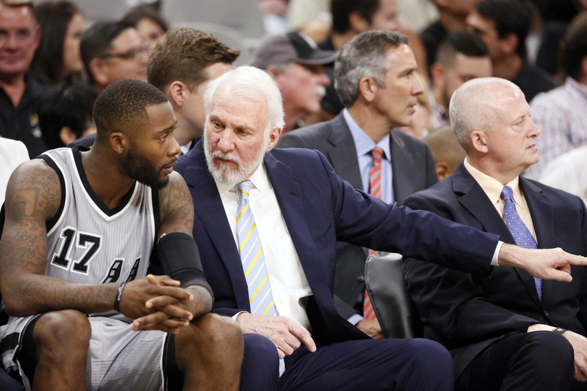 What's been most impressive about the Spurs so far?