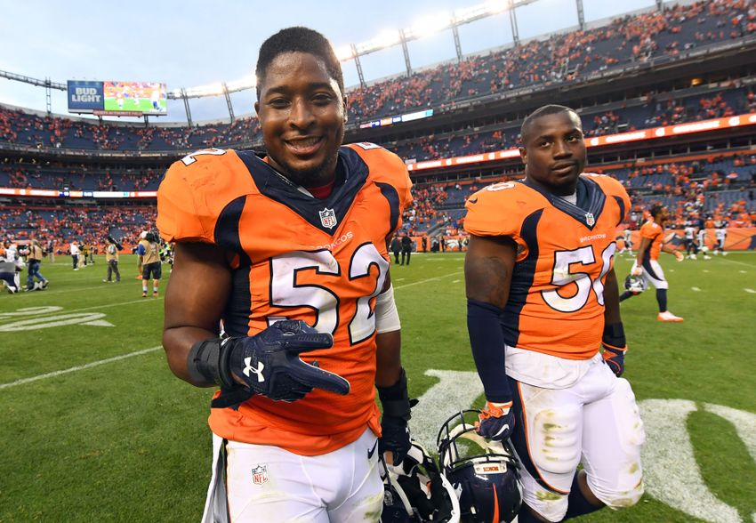 Denver Broncos young linebackers ready to step up Sunday