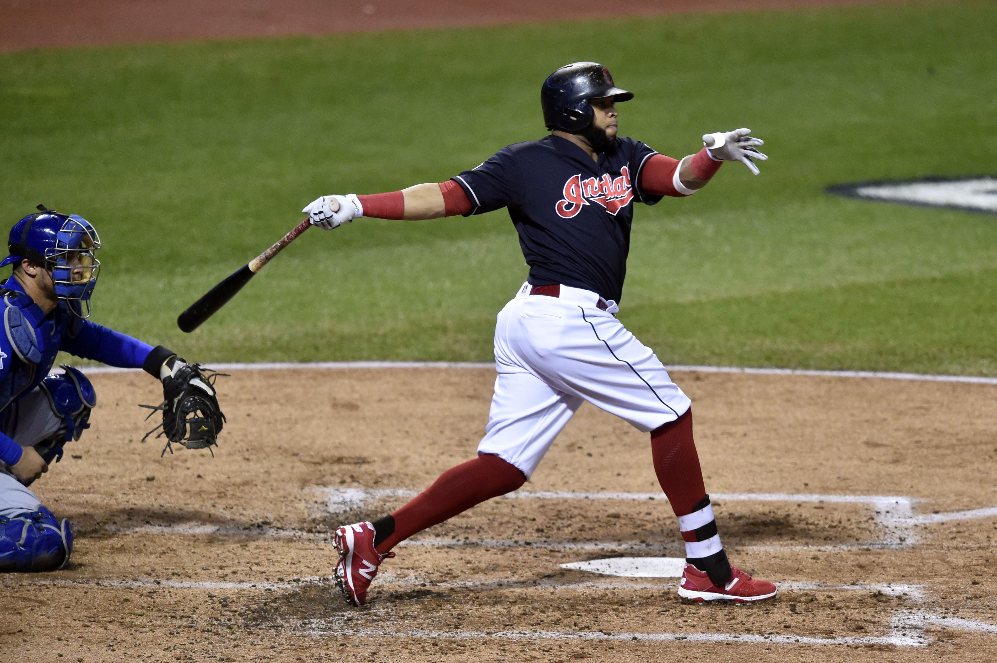 Cleveland Indians Lineup: Carlos Santana Best Option to Hit Leadoff?