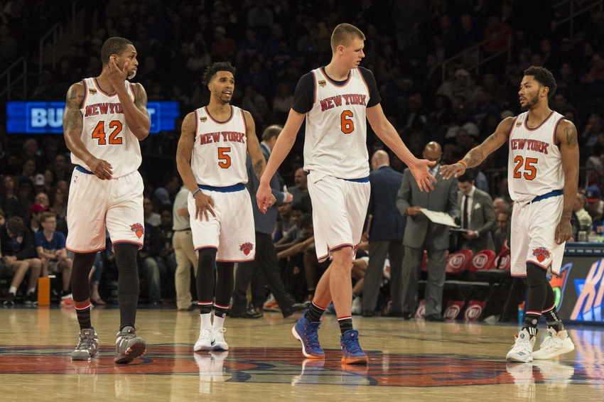 New York Knicks: Lance Thomas' Return Helps Knicks' Small-Ball