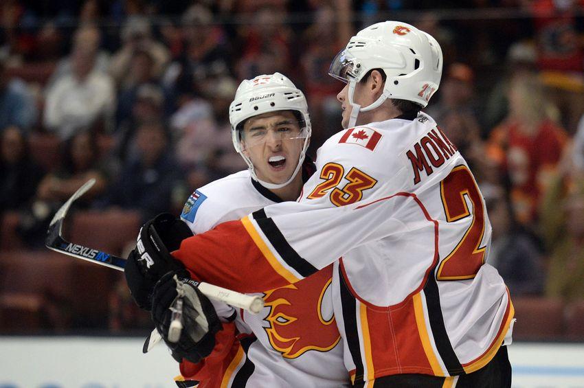 Calgary Flames: Monahan and Gaudreau Finally Living Up To Paychecks
